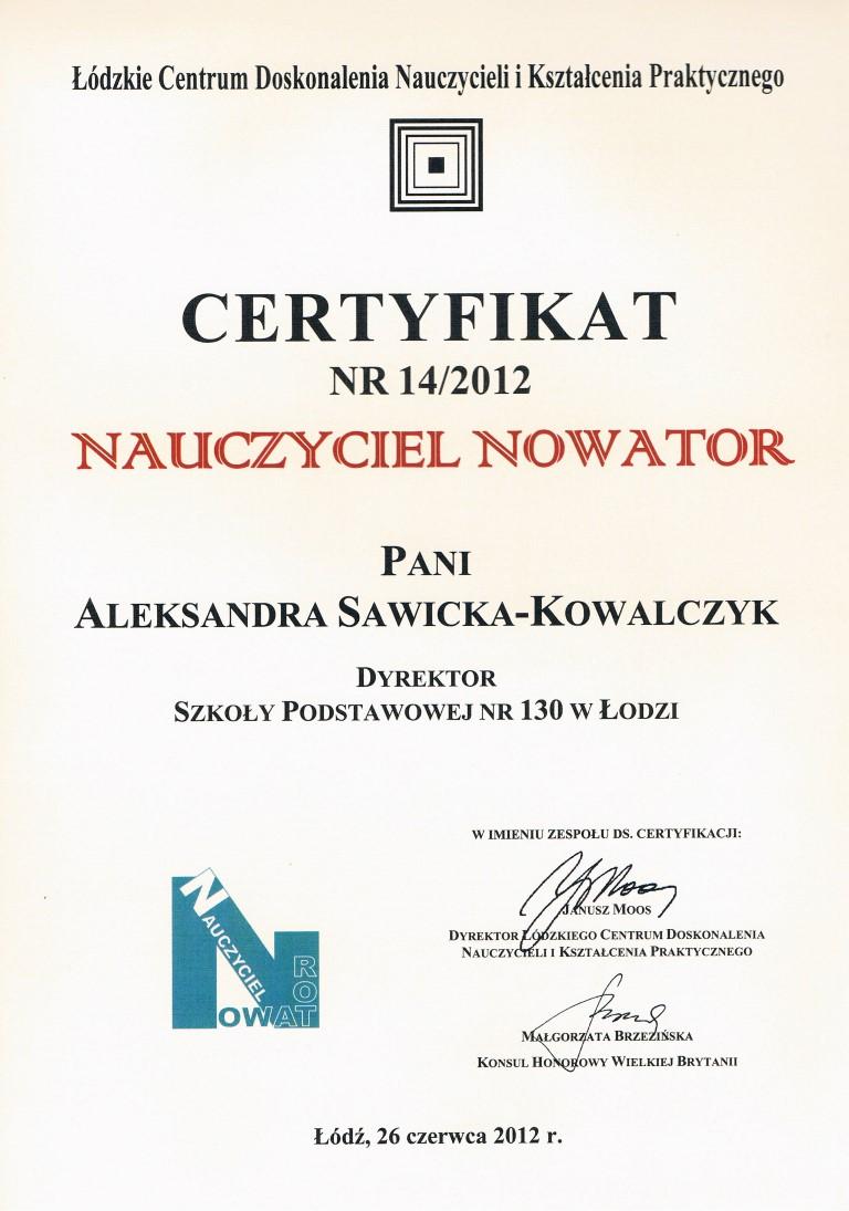 nowator - dyrekcja