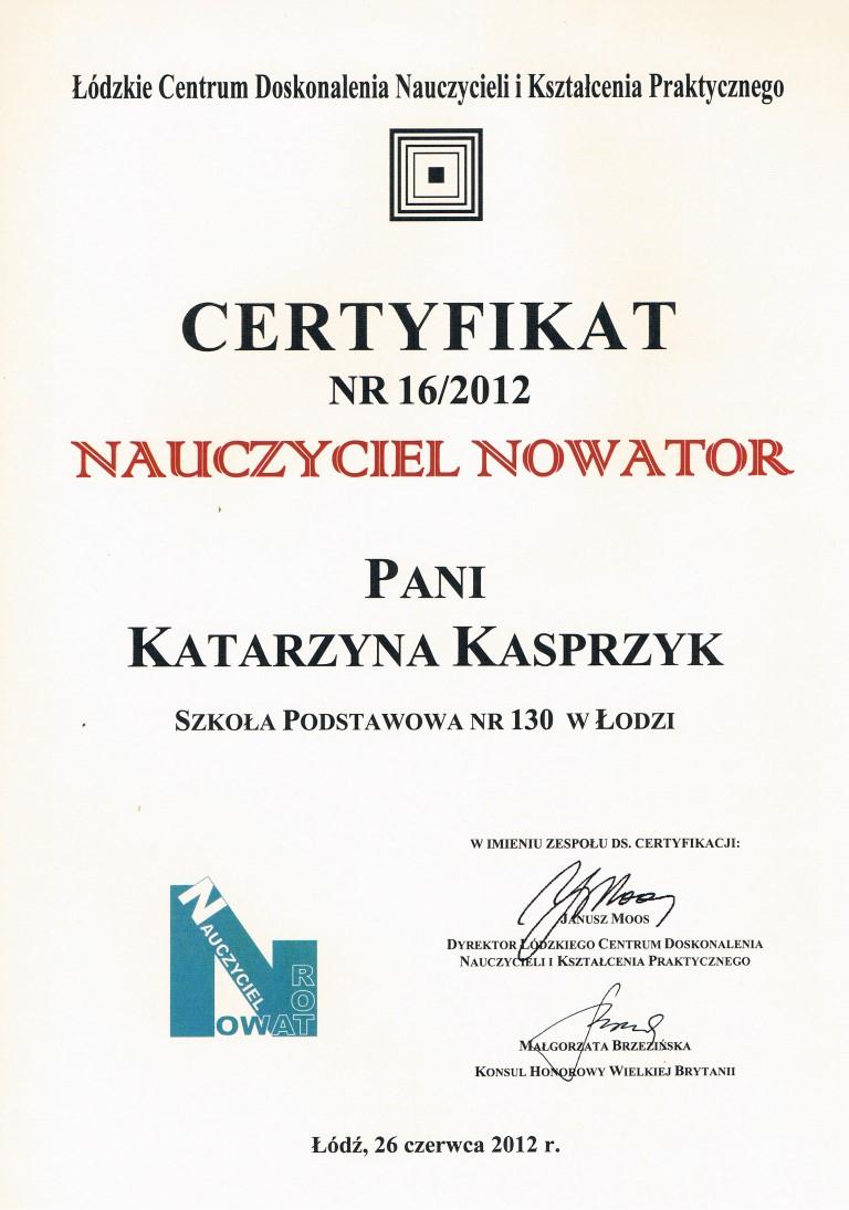 nowator - kasia
