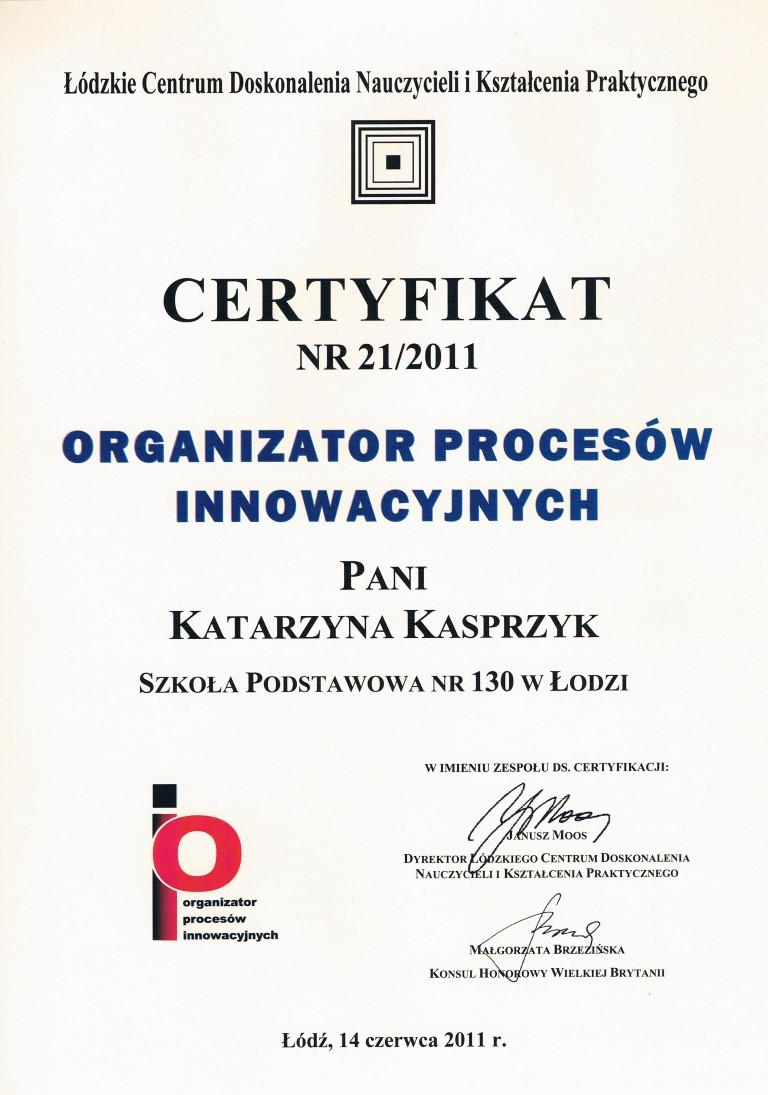 org. procesów - Kasia